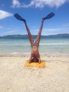head over heels in Fiji - YTT