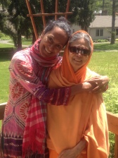 My inspiration- My Mom, Srividyananda so much gratitude